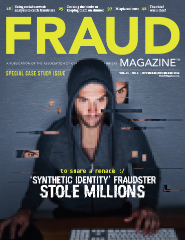 Fraud Magazine November December 2016