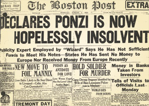 Image result for Declares Ponzi is Now Hopelessly Insolvent.