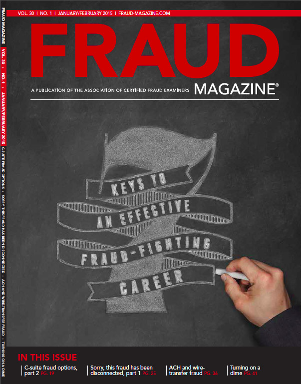 Fraud Magazine January February 2015