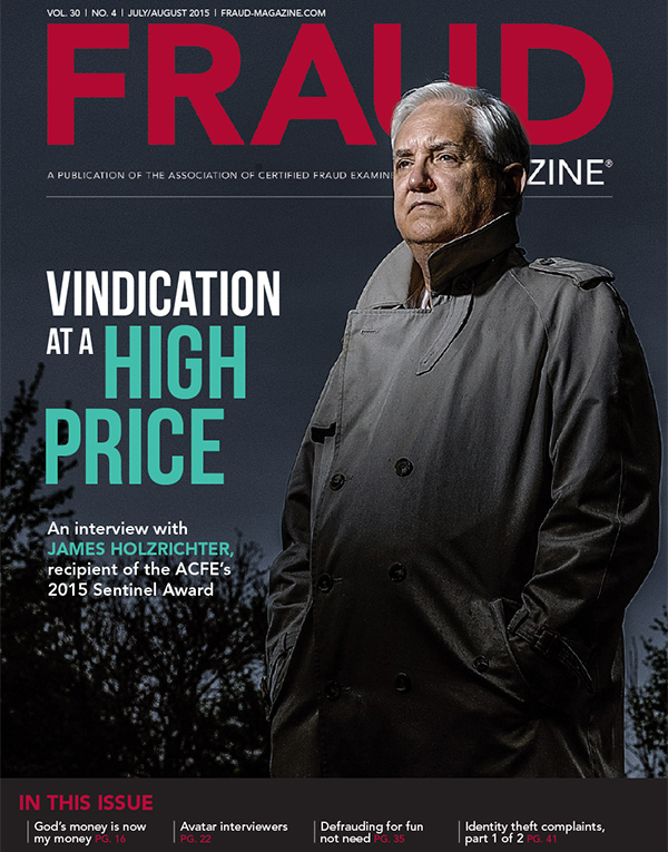 Fraud Magazine July August 2015