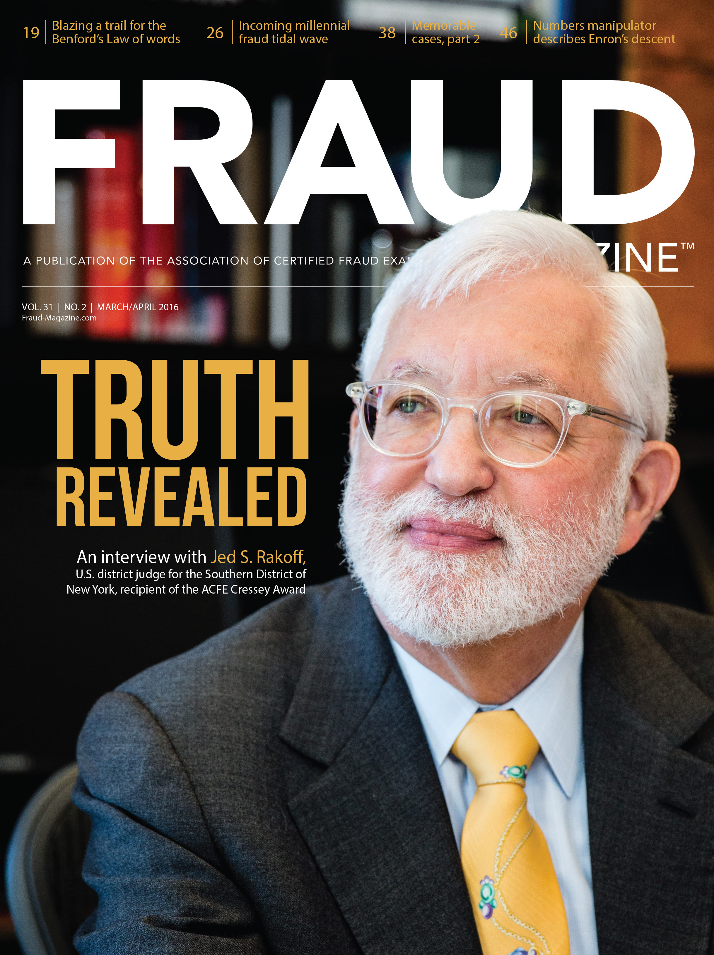 Fraud Magazine March April 2016