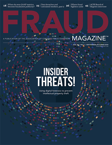 Fraud Magazine Septmber October 2016