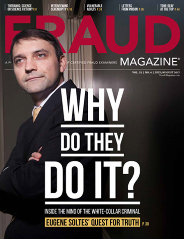 Fraud Magazine July August 2017