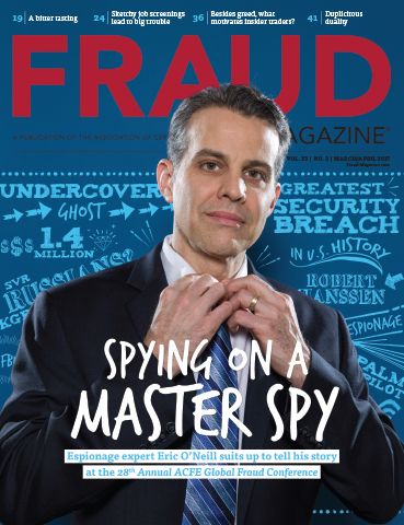 Fraud Magazine May June 2016