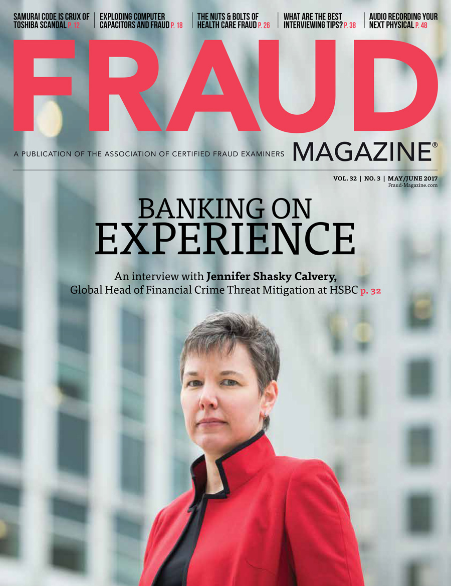 Fraud Magazine May June 2017