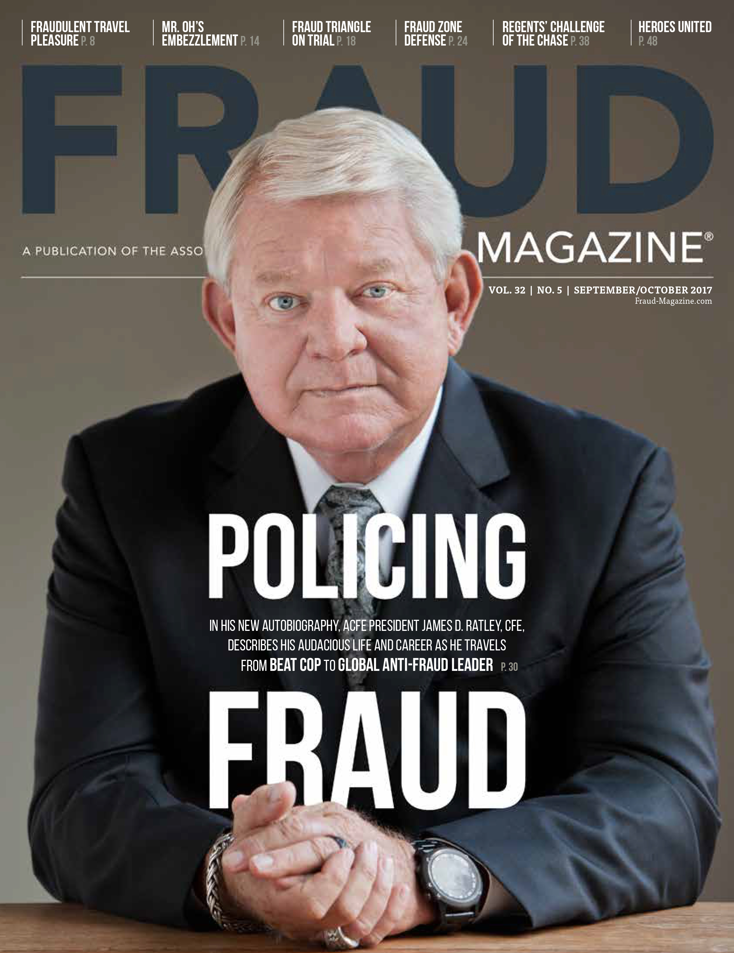 Fraud Magazine September October 2017