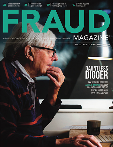 Fraud Magazine January February 2017