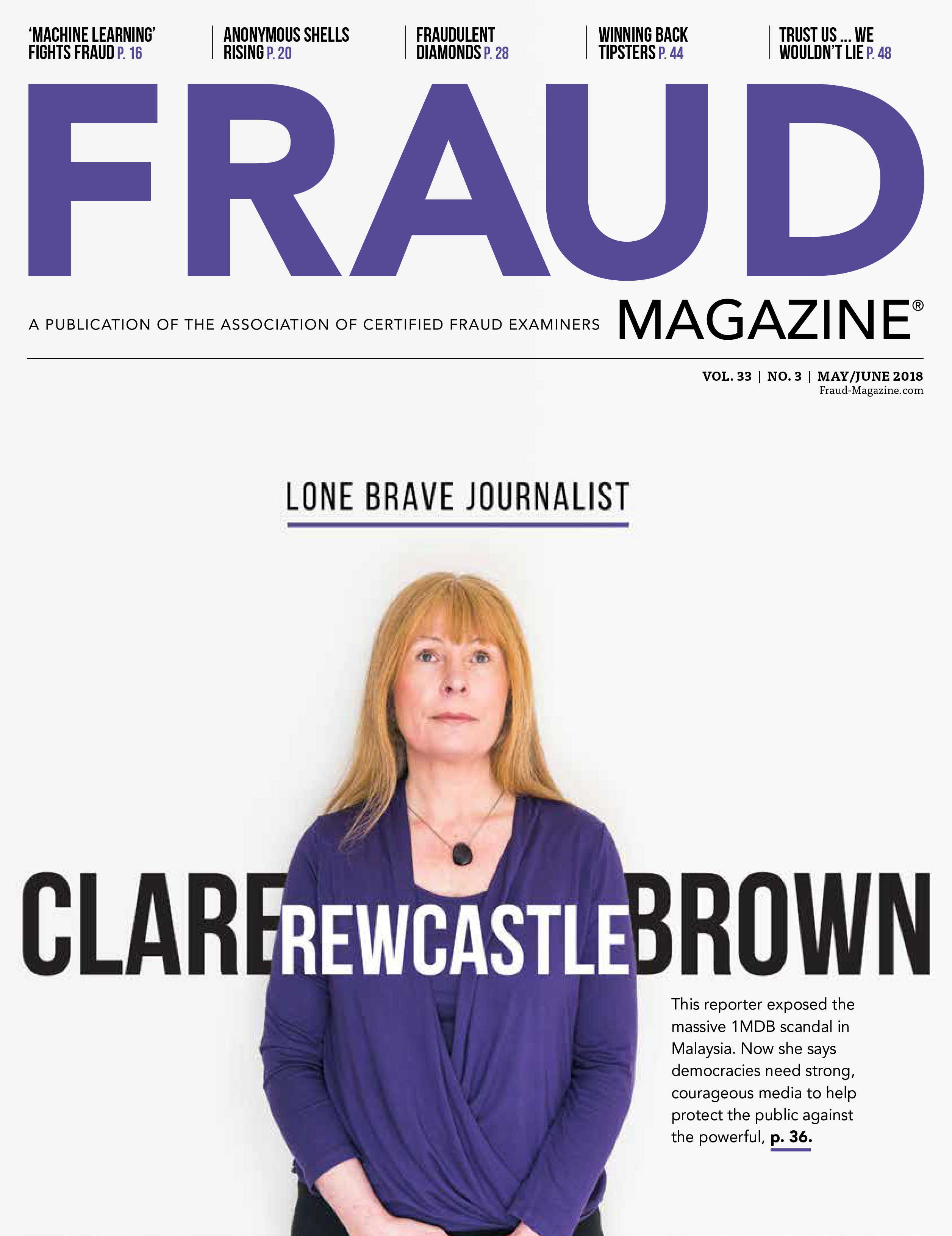 Fraud Magazine March April 2018
