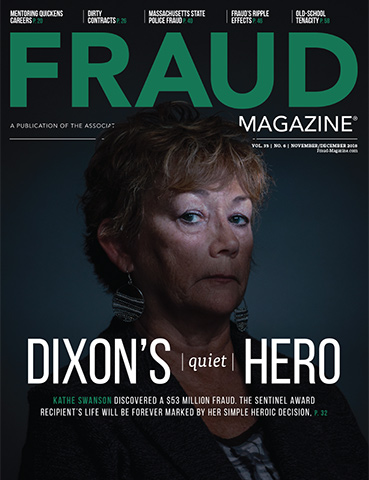 Fraud Magazine November December 2018