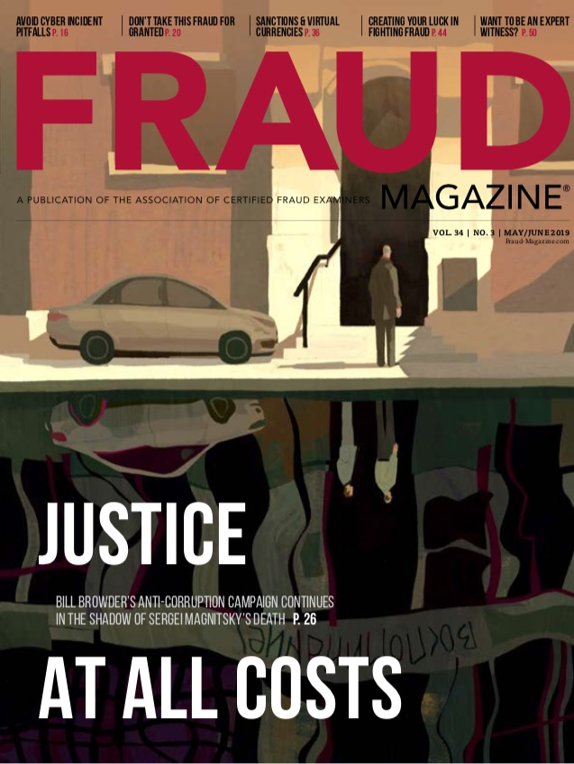 Fraud Magazine May June 2019