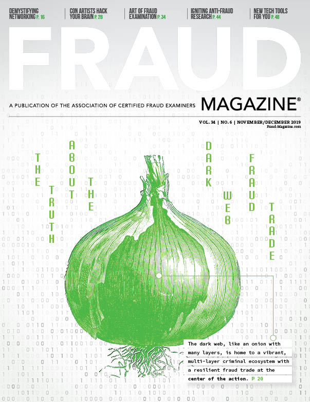 Fraud Magazine September Octobr 2019