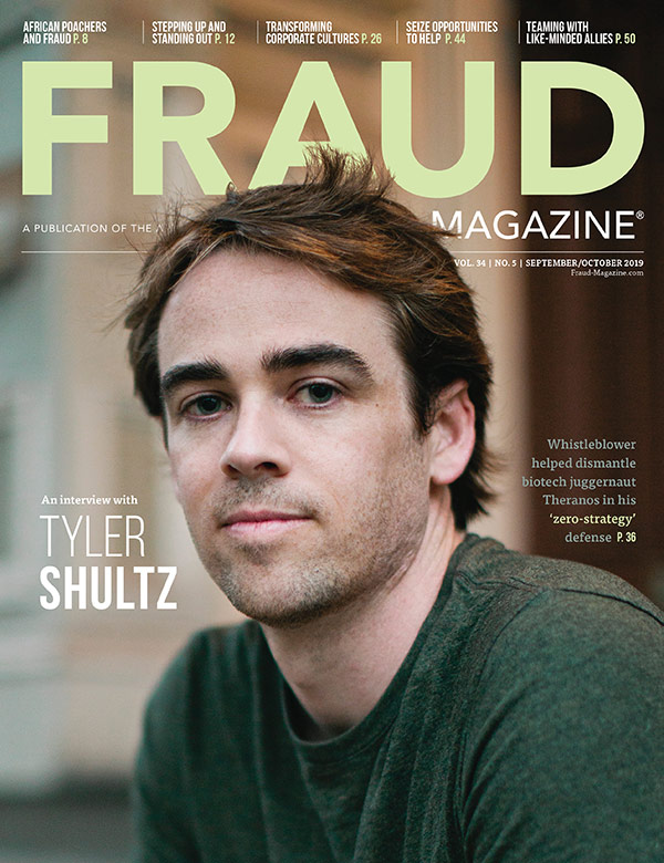 Fraud Magazine September October 2019