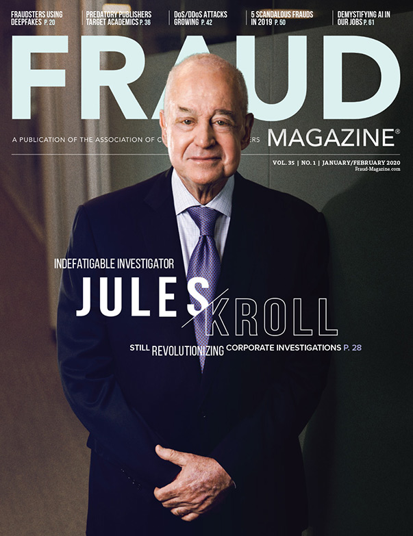 Fraud Magazine January February 2020
