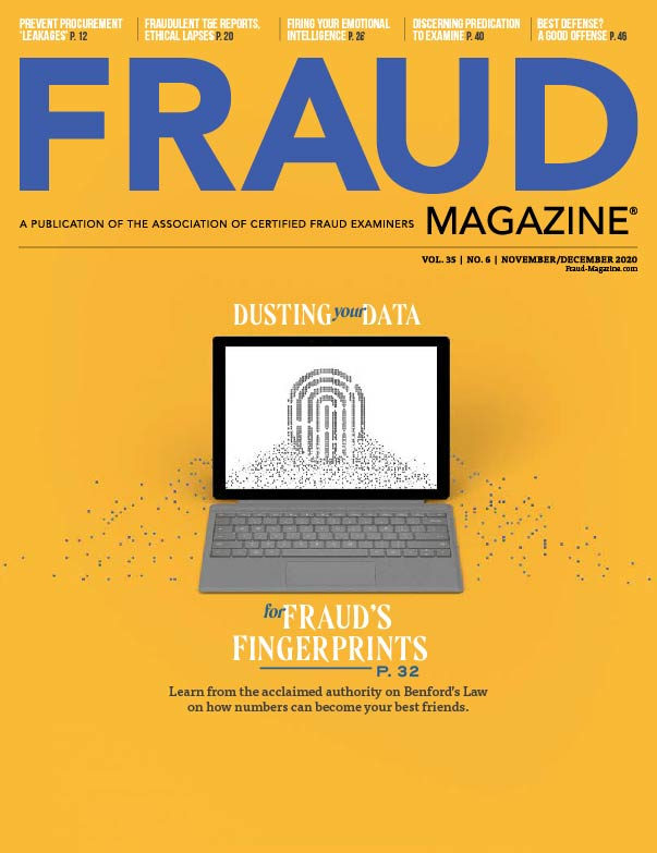 Fraud Magazine November December 2020