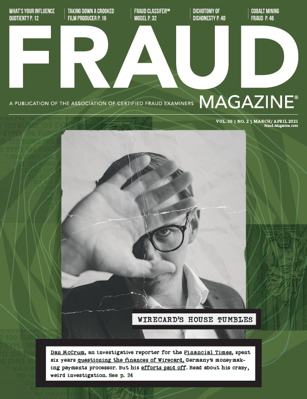 Fraud Magazine March April 2021